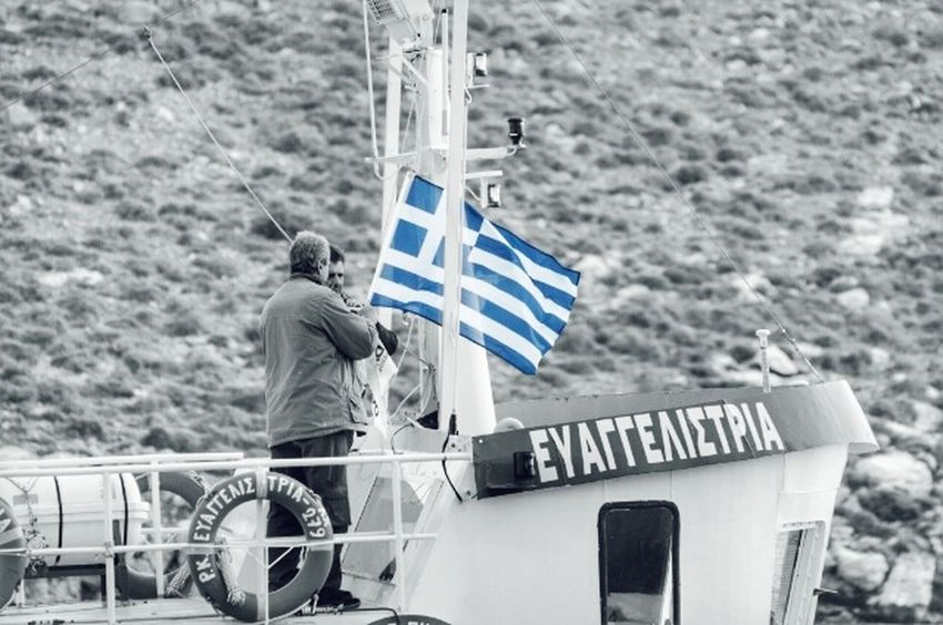 Today we celebrate our Independence day. Glory and the same time sad days of the Past. I wish today people and their Nations had nothing against each other. Unfortunately, Governments and that 1% of the wealthiest don't share that feeling... National Day Greek Flag Celebrating Patriotism Proud Flags Ship Colorsplash Greek Symbols Greek Flag Independence Day Greece