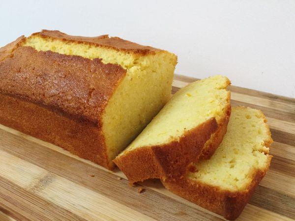 Orange pound cake Cake Orange Food Freshness SLICE Ready-to-eat Baking Homemade Sweet Dessert Poundcake Tasty Bread