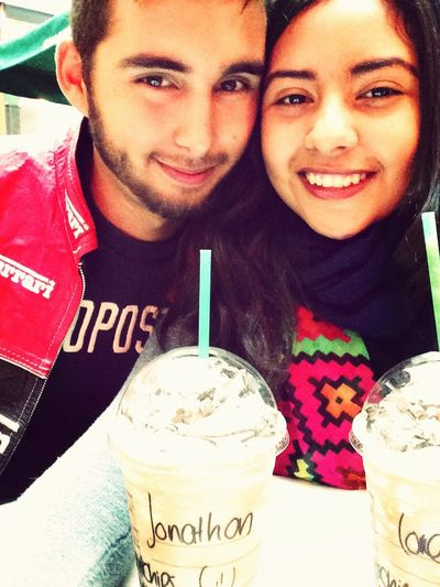 TheOnlyException  Truelove True Story Iloveyou Teamo Starbucks Frapuccino Jonathan  Lorena(: Lorethan