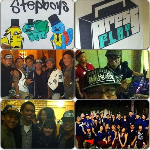 Little recap of Breakthrough. Definitely an experience. I had a bunch of emotions going on this night but at the end of the day it was just all for the love of dance. ❤👯👯 glad I got to see my friends and meet new ones! Holla! Love my teams @stepboys @pressplay916 Imbookie Stepboys Pressplay Playboys Breakthrough2013 Dancelife Family Friends Loveyou IdBeat Hellafine Blessed  Thankyou Pokémon Thatsignisthebest LOL