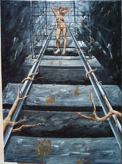 Art Culture And Entertainment Human Body Part Oil Painting
