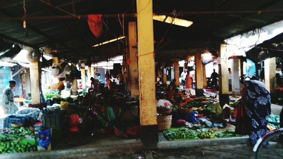 Full View Of Market