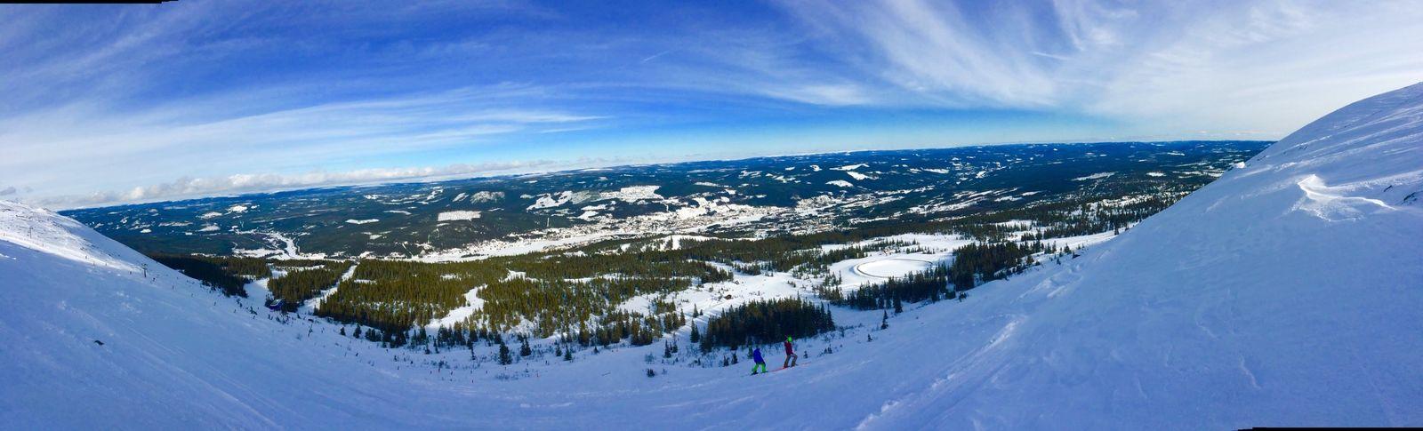 Skiing DubbelA