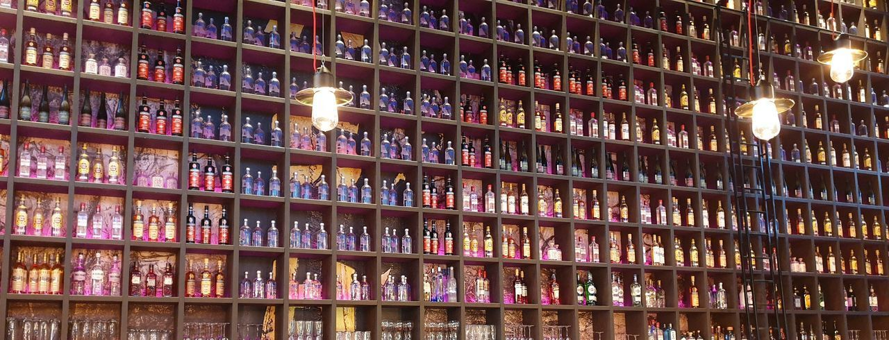 Bottled wall