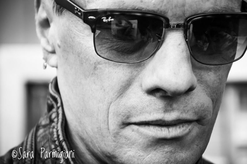 At the end of the countdown for the E+I Tour 2018, here one of the the shots taken in Turin in September 2015, on the last rehearsal day before the start of the European Leg Portrait Contrast Lights And Shadows Blackandwhite Photography Blackandwhite U2 Drummer U2ieTour U2 Larry Mullen Jnr. Larry Mullen Jr Glasses Headshot Portrait One Person Fashion Real People Close-up Sunglasses Lifestyles Human Face Outdoors Focus On Foreground