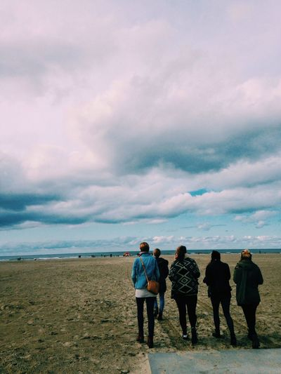 What Makes You Strong? Good Friends + seaside