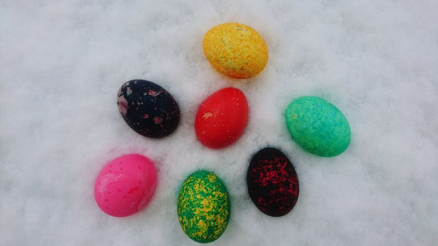 Wintertime Mecklenburg-Vorpommern Eggs... Winter Wonderland Wintertime Frühling Ostern Bunte Eier Eierfärben Easter Ready Easter Easter Eggs Easter Decoration Eastern Europe Easter Holidays Ostern 2018 💫 Ostern Naht Unaufhaltsam ... Colorful Color Photography Eggs Art Ostseebad Kühlungsborn Multi Colored Variation Choice No People Still Life White Background Food Large Group Of Objects