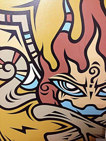 Melbourne Graffiti panel by Phibs