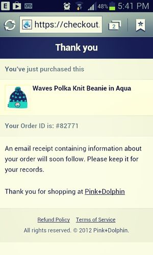 Christmas present from my momma! (: ¥FG PinkDolphin