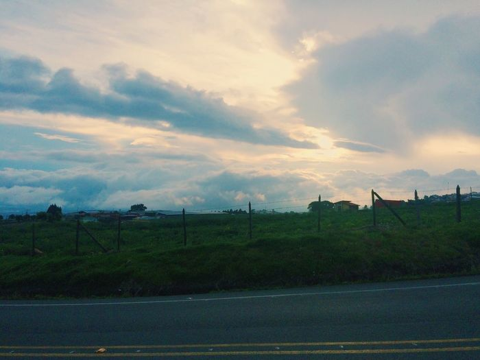 Road to you EyeEmNewHere Highway Cloud - Sky Sky Beauty In Nature Plant Scenics - Nature Tranquil Scene Environment Outdoors Landscape Nature Tranquility Sunset No People EyeEmNewHere