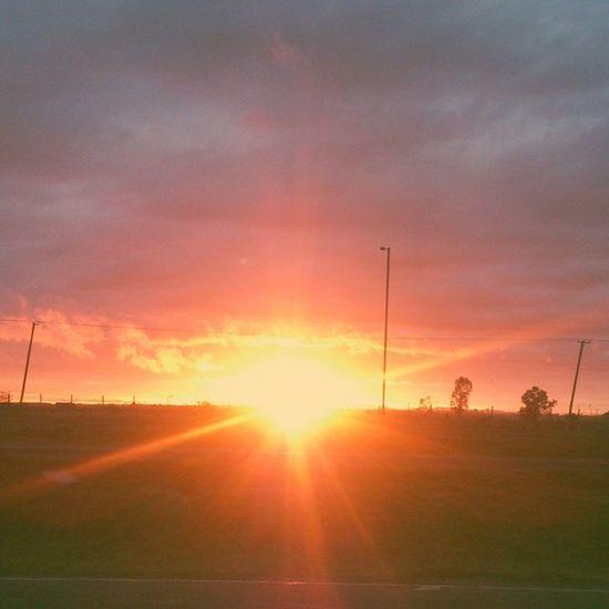 Beautiful start of the day here in the CityofNairobi . Igersnairobi Vscocam ,VSCO , sunrise
