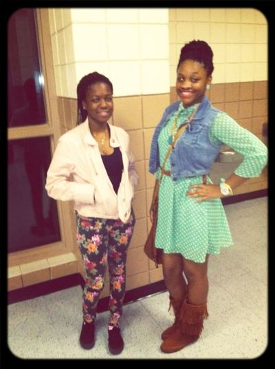 Me & Sham , At The Game ..