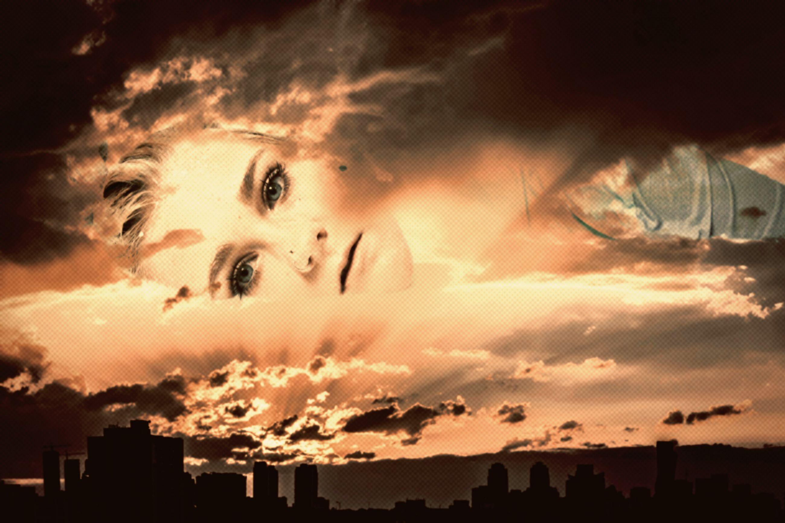 sunset, sky, cloud - sky, cloudy, city, orange color, weather, cloud, dramatic sky, outdoors, cityscape, nature, scenics, beauty in nature, overcast, sun, no people, city life, cloudscape, illuminated, tranquility, multi colored, idyllic