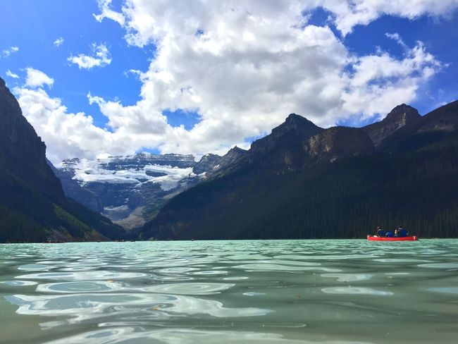 Emerald Lake Canadian Rockies  Kayaking Mountains Summer Adventure Activity Sport From My Point Of View
