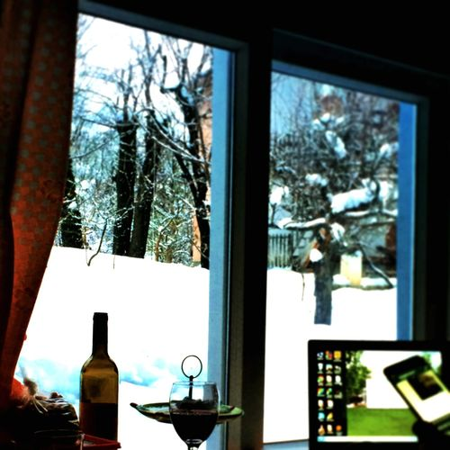 Relaxing Art Snow Wine
