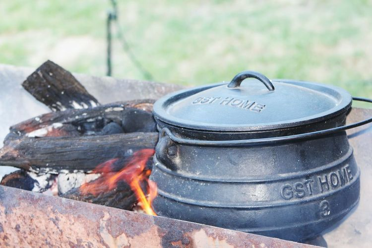 Heat - Temperature Burning Close-up No People Flame Outdoors Camping Stove Day Braai Summer Relaxation Live For The Story