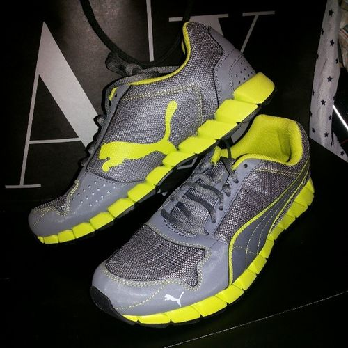 Mis Nuevas Zapatillas Puma