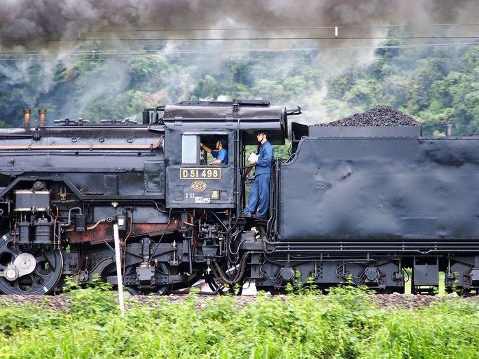 久しぶりにみかけたSL 蒸気機関車