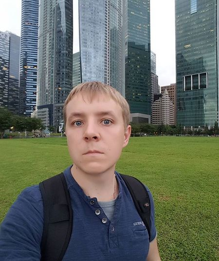 Sg Singapore Travel Selfie