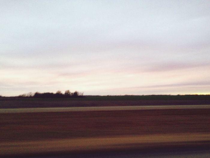 Dailyphoto Sunset Drive Home