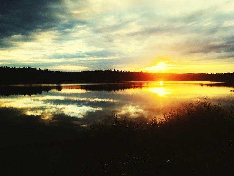 Nature Woburn Sunrise