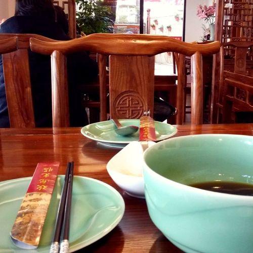 Lunch Enjoying Life Noodles Shanghai, China