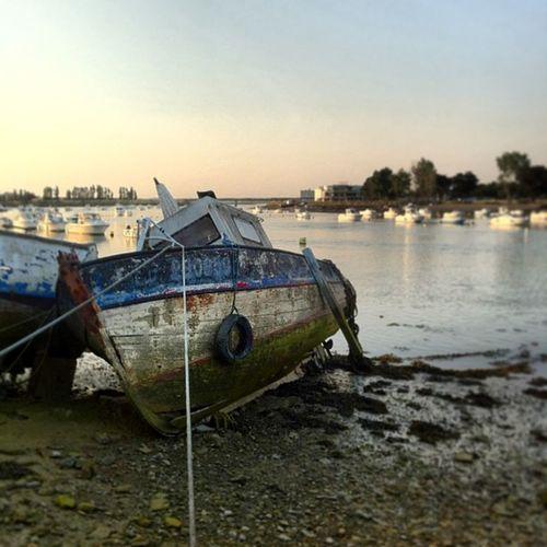 Le port de Saint Gilles Croix de Vie à marée basse Stgillescroixdevie Port Bateau Vendée