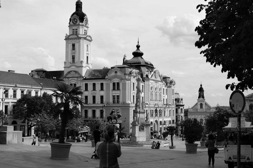 Architecture Built Structure City City Life Dome EyeEm Gallery Main Square Mediterranean  Pécs Travel Destinations