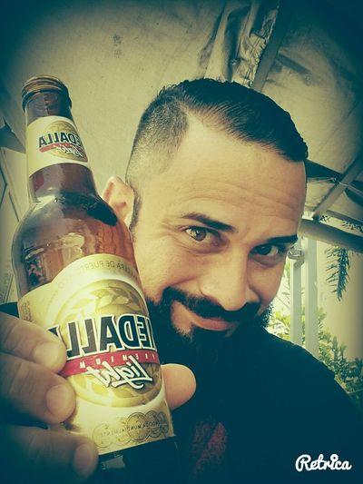 MedallaLight Cerveza cerveza Puertorico Puerto Rico Beardman Beardboy Beard Barbudo Beardnation Enjoying Life