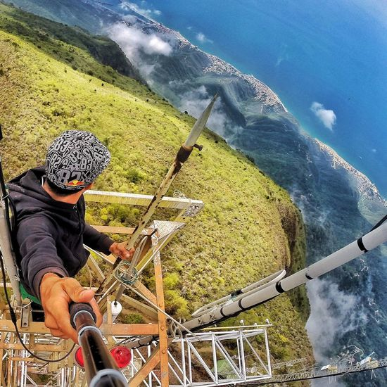 Stay High at Avila's mountain in vargas Venezuela. Shoot HERO Gopro GoPro Hero3+ View Climb Sky EyeEm Best Shots EyeEmBestPics