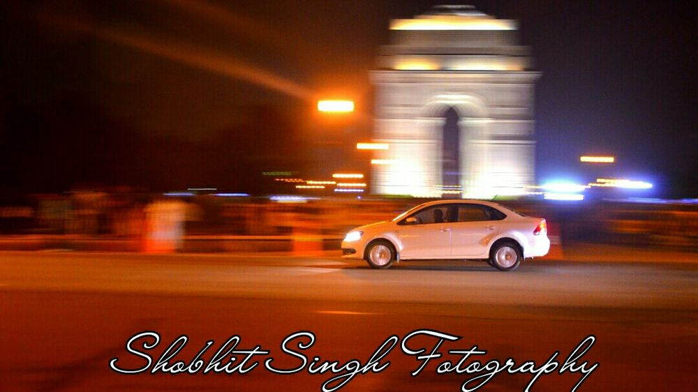 Delhi India Gate Motion Blur People And Places