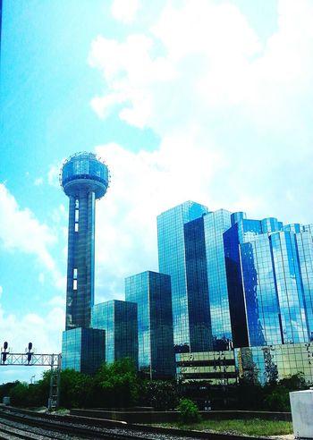 Cityscapes Dallas Outside Fromthetrain