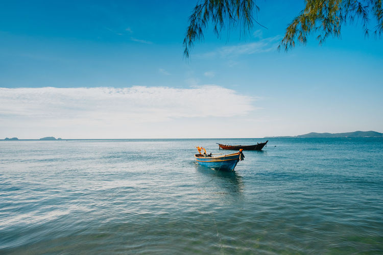 Travel Photography Travel Destinations Beauty In Nature Blue Day Horizon Over Water Mode Of Transport Nature Nautical Vessel Outdoors Scenics Sea Sky Tranquility Transportation Water Waterfront