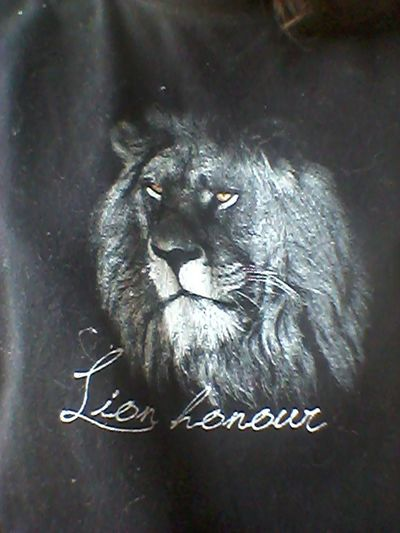 Tee. ♥ Today's Hot Look Lion Honour South Africa Follow Me