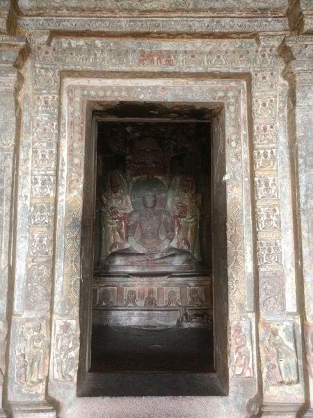 Jain Temple Built Structure Architecture Place Of Worship JAINISM👏 Jainbhagwan Ajantha_ellora God Is Great. God's Beauty God