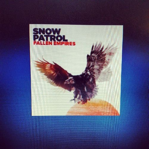 On my music playlist here in the office.. Snowpatrol Nowplaying
