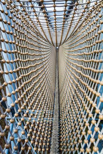 Hängebrücke Net Seile Web