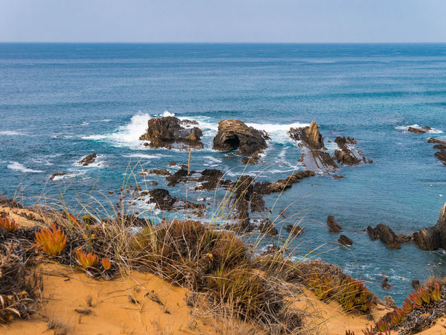 Landscape_Collection Nature Nature Photography Portugal Rock Travel Travel Photography Traveling Wave Beauty In Nature Cavaleiro Cliff Horizon Over Water Landscape Landscape_photography Nature_collection Naturelovers Ocean Outdoors Photography Scenics Scenics - Nature Sea Travel Destinations Water