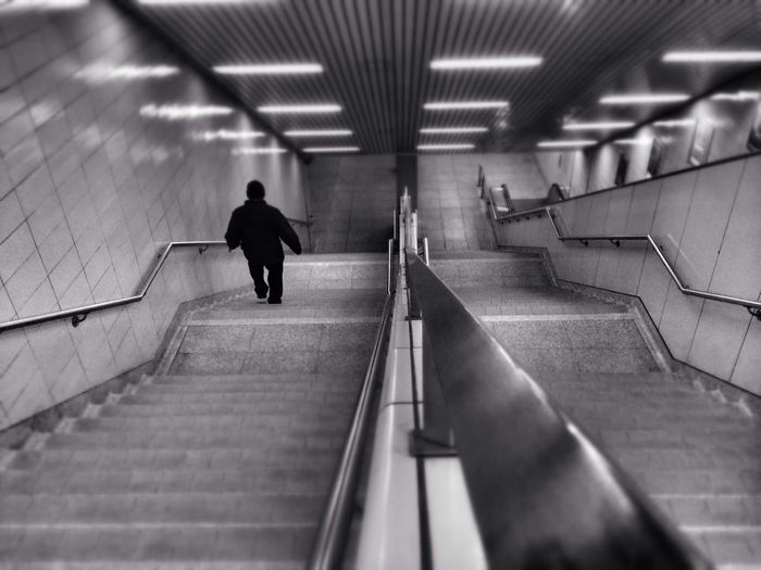 Lines to the underground. Notes From The Underground Subway IPhoneography