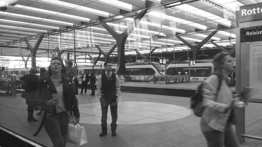 Rotterdam Centraal Station Train Station is this the Train To Nowhere (c) 2015 Shangita Bose All Rights Reserved My Commute The Mix Up The Innovator