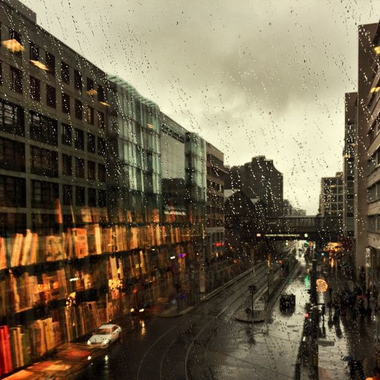 Rain, Xmas. Wet