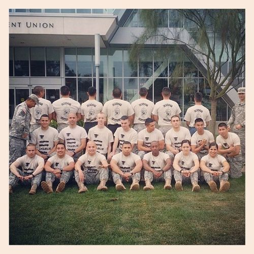 Charliecompany ArmyRotc Awesome Blessed
