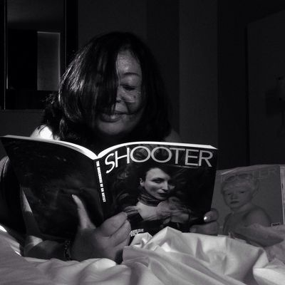 Readind SHOOTER Shootermag Mob Fiction Bw_collection NEM Black&white