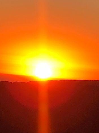 Orange Color Sunset Sky Beauty In Nature Sun Scenics - Nature Tranquil Scene Sunlight Nature