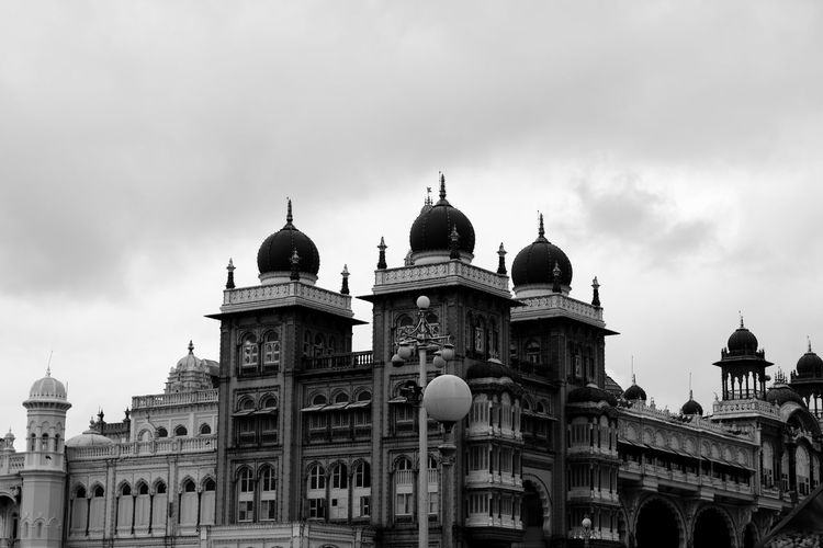 Exterior or Majestic Mysore Palace Architecture Building Exterior Culture Dome Famous Place Historic International Landmark Outdoors