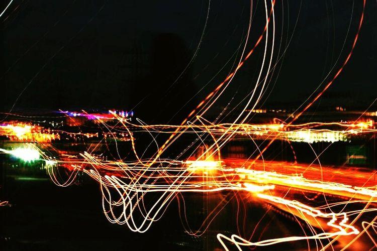 Lights... Lights Midnightmemories Istanbul Turkey Street Canon60d Canon 50mm F1.8 ıı Long Exposure Eyeemphotography Popular Photos