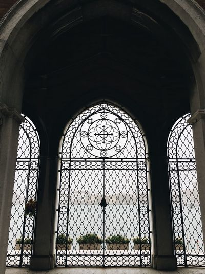 Arch Window Indoors  Day Safety Architecture Protection Built Structure No People Venice Cimetery Island
