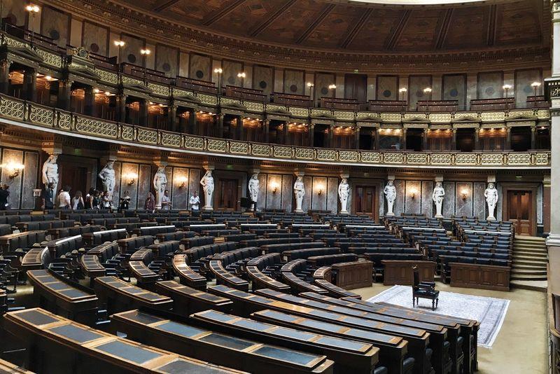 Hohes Haus Democratic Architecture Austrian Politics