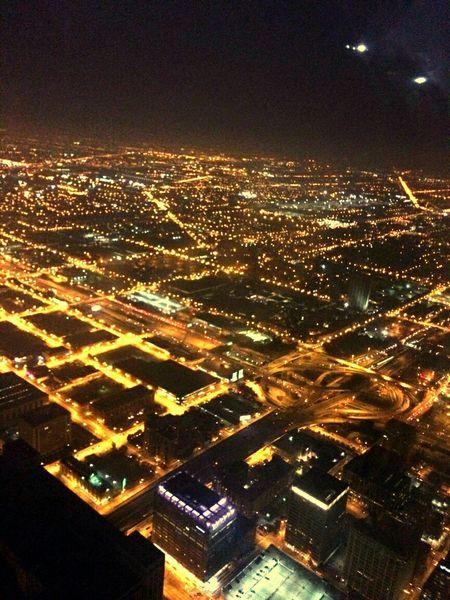 Willistower Chi-Town Topofthecity Nightphotography Night Lights City Lights