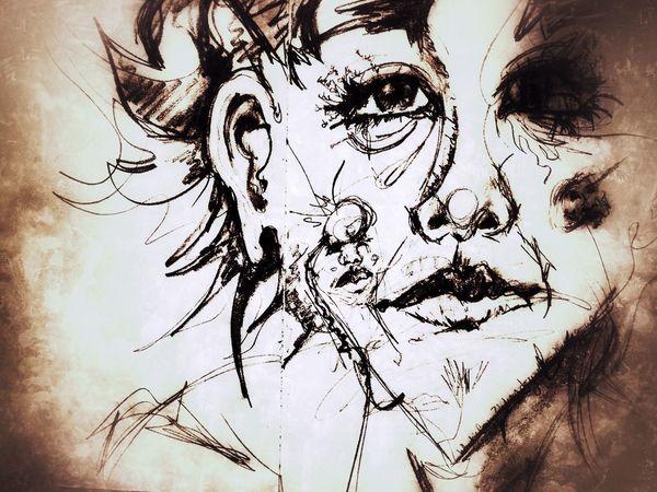 Carol. Drawing Draw blackandwhite Art, Drawing, Creativity